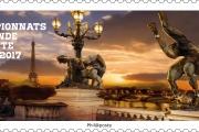 Un timbre pour les Championnats du Monde !